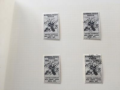 Italy hinged mint & used stamp olympic collection incl AMG FTT very high cat ££