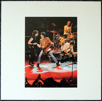 The Rolling Stones Poster Page Mick Jagger & Ron Wood . Y109