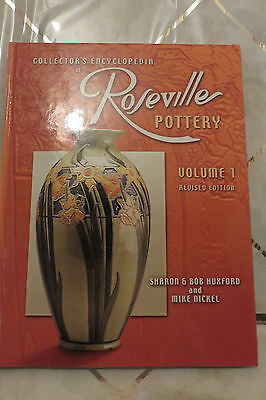 Hardbound 2001 ROSEVILLE Pottery Collector's Encyclopedia Volume 1 Book