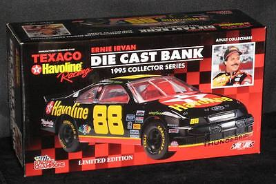 NEW MINT IN BOX ERNIE IRVAN #88 TEXACO HAVOLINE RACING Die-cast Ford THUNDERBIRD