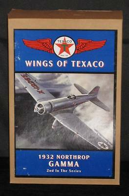 NEW MINT IN BOX Die-cast WINGS of TEXACO 1932 NORTHROP GAMMA AIRPLANE