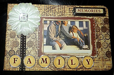 Family Photo Album, Slip In Pages, 6 x 4, Acid & Lignin Free, Brand New in Box