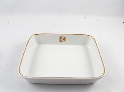Vintage Canadian Pacific Airlines Cp Air Porcelain Square Serving Dish 1/2