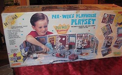 Pee-Wee's Playhouse Playset 1988 Matchbox Never Opened In Sealed Box