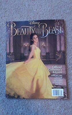 Disney Beauty and the Beast Official Collectors Edition Magazine 2017