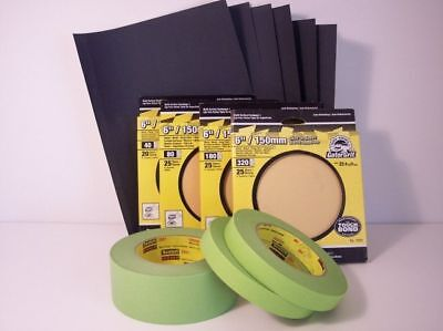 Auto Body Supplies Paint Refinishing Package Kit NEW