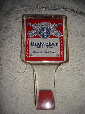 Vintage BUDWEISER BEER TAP HANDLE