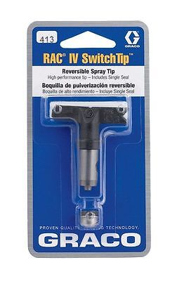 Graco 413   221413 Reversible Airless Spray Tip, RAC IV SWITCH TIP, Painting NEW