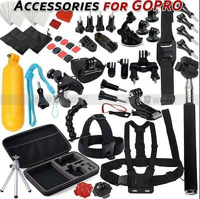US Monopod Pole Floating Mount Accessories Kit For GoPro Hero 5 3+ 2 3 4 Camera