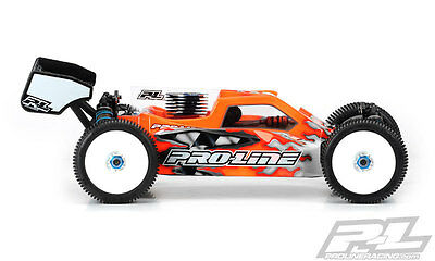 NEW Rc8.2 Bulldog Clear Body (Pr3400-00) from RC Hobby Land