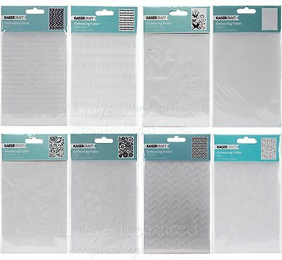 "Kaisercraft Kaiser 4""x6"" Embossing Folder - 66 Design Options Scrapbooking Card"