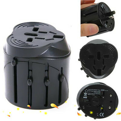 International Travel Adapter AC Power Plug Converter Universal AUS UK US EU