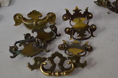 Vintage Ornate Dresser Desk Drawer Pull Handle Chest Victorian  Lot of 7
