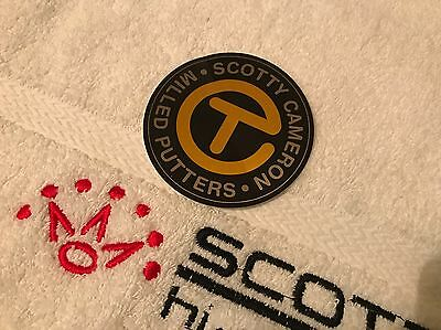 Scotty Cameron CT Circle T - For Tour Use Only Sticker/Decal - GOLD