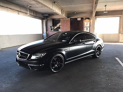 2012 Mercedes-Benz CLS-Class cls63 2012 Mercedes-benz cls63 Satin Black Performance Package LSD NIGHT Vision Loaded