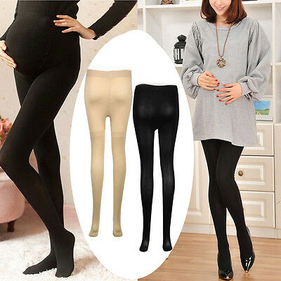 120D Women Pregnant Maternity Socks Hosiery Solid Stockings Tights Pantyhose