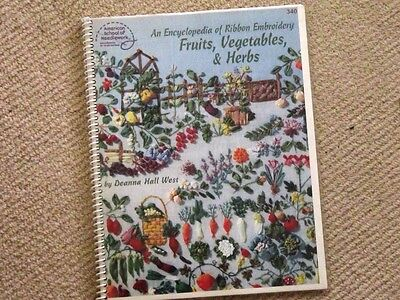 Craft ribbon embroidery flowers book 121 designs from USA