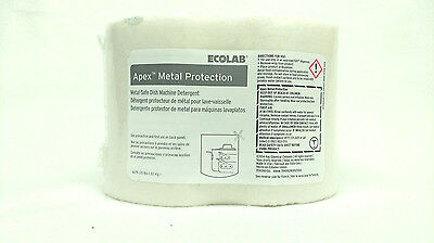 Ecolab 759090 Apex Solid Power Dish Detergent Commercial-Strength Metal-safe Kay