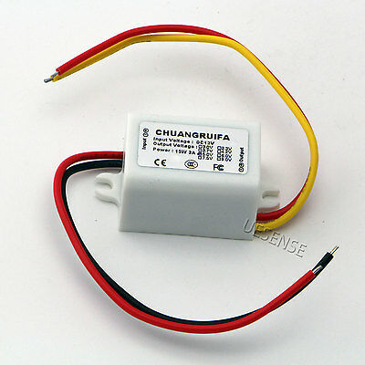 Waterproof DC/DC Converter 12V Step down to 9V 3A 15W Power Supply Module