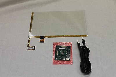 """New 10.1"""" Projected Capacitive Touch Screen Panel Kit USB Windows 7 8 10"""