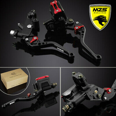 Brake Clutch Master Cylinder Reservoir Levers For Yamaha YZF R1 R6 Honda CBR600
