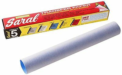 Saral Transfer Paper Roll, Blue - 12 FEET