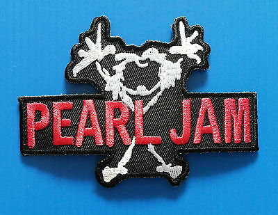 PEARL JAM MEMORABILIA Embrodered Iron Or Sewn On Patches Free Ship