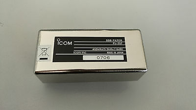 ICOM FL-257 SSB Filter 3.3KHz WIDE for IC-718 IC-756 IC-703 IC-78 IC-R75 IC-746