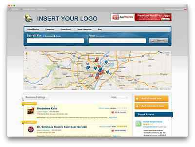 Business Listing Geo Directory Profitable Website for sale Hosting+Installation