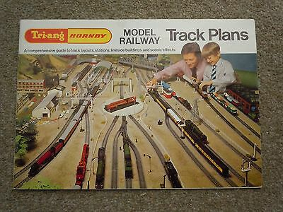 Triang Hornby OO Gauge Model Railway Track Plans - two editions