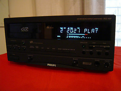 piastra deck Philips DCC 450,digital recorder,100% perfetto,telecom +istruz.