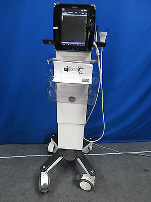 GE Venue 40 Ultrasound System with 12L-SC 2L-SC (5265367) Wide-Band Linear Array