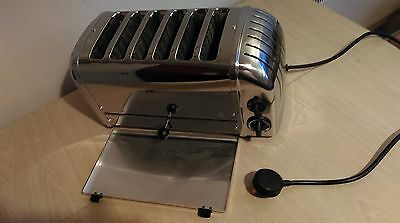 Outstanding Refurbished Dualit 6 Wide-Slot Toaster. Many New Parts + Timer
