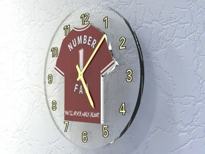 THIERRY HENRY Arsenal FC Football shirt Legends Clock - LIMITED EDITION !!!