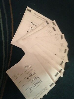 ABRSM Theroy of Music exam papers x 10