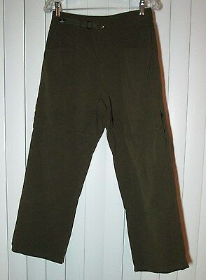 "prAna Unisex ""BREATHE"" Hiking Climbing Outdoors Utility Pants.  Small  28x28"
