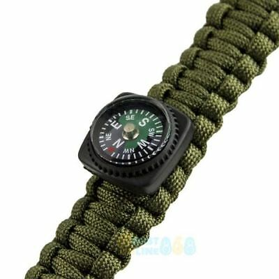SAS Paracord 5 in 1 survival bracelet in Army Green