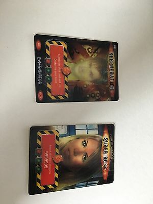 Ultra Rare Doctor Who Battles In Time Super Rose Gold card & Regeneration card