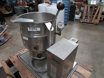 Groen 20 Quart Electric Tilting Steam Kettle TDB/7-20