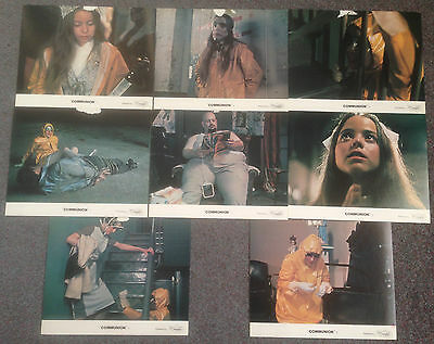 COMMUNION - SET OF 8 ORIGINAL LOBBY CARDS -Brooke Shields
