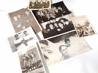 Small Lot Vintage RP Postcards & Pictures  -- Navy Interest