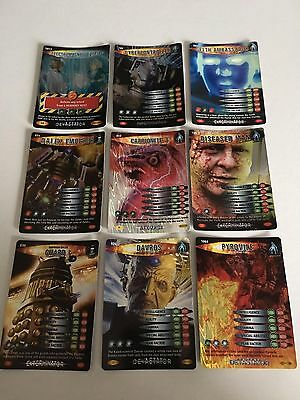 9 Super Rare Doctor Who Cards