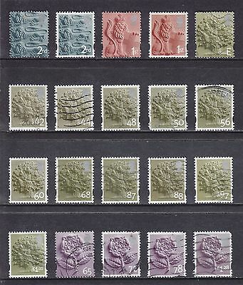 Collection Of 20 GB QEII ENGLAND Regional Issues SG EN Series Used Stamps