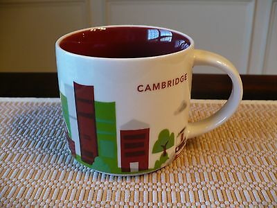 Starbucks Coffee Tea 2013 Mug Cup You Are Here Collection Cambridge