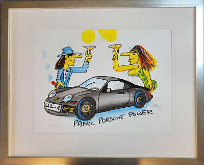 "James Rizzi 3 D Bild ""THE SUN LOVES THE MOON, THE MOON....""NEU mit  Zertifikat"