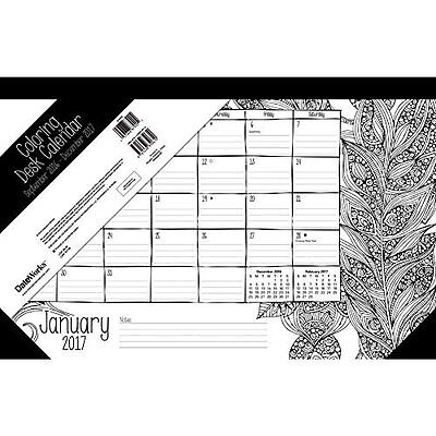 Coloring for Women Desk Pad 11 x 17