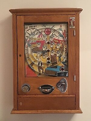 Wonders the patsy allwin arcade machine vintage retro fairground circus penny