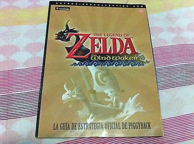 GUIA OFICIAL PIGGYBACK The Legend Of ZELDA THE WIND WAKER