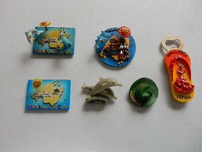 One Selected 3D Souvenir Fridge Magnet from  Mallorca Spain