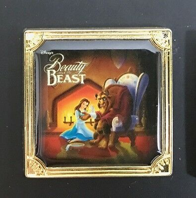 Disney Store Japan Beauty the Beast Pin Belle LE1000 Delightful Edition Rare!